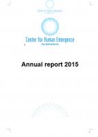 Annual report 2015 foto